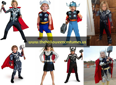 Thor Halloween Costume for kids & teens 2016
