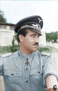 Adolf Galland Color photos of German officers worldwartwo.filminspector.com
