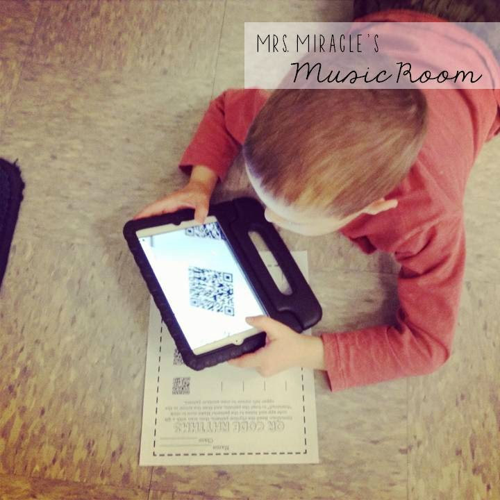 How to use QR codes in any classroom: Suggestions for creating and using QR codes to have students listen, visit websites, and more! Blog post includes freebie for music teachers!