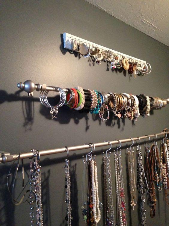 organizar bijuterias