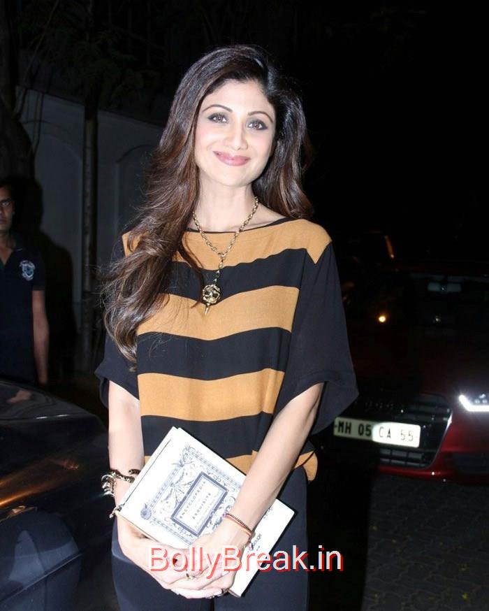 Shilpa Shetty, Hot Pics of Priyanka Chopra, Shilpa Shetty From 'Dil Dhadakne Do' Trailer Launch at Anil Kapoor Residence