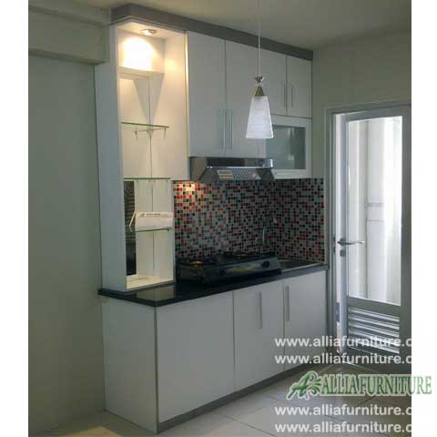 kitchen set minimalis hpl simpel model vexa