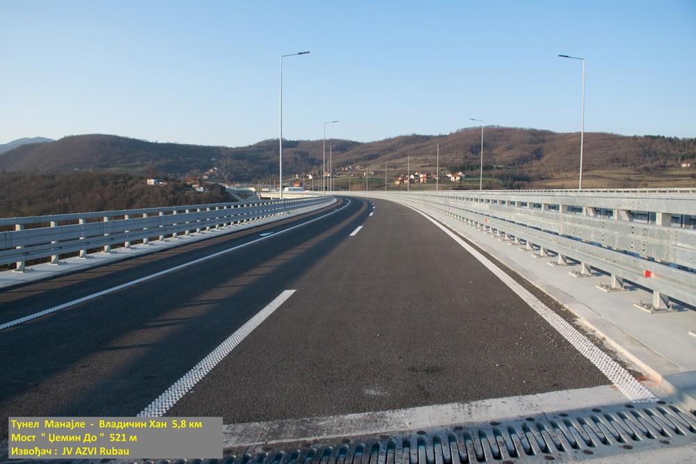 Sırbistan Niş ve Makedonya Üsküp Arasındaki Otoban Kullanıma Açıldı
