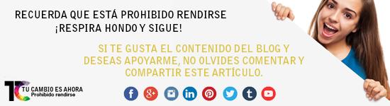 Blog Tu Cambio Es Ahora