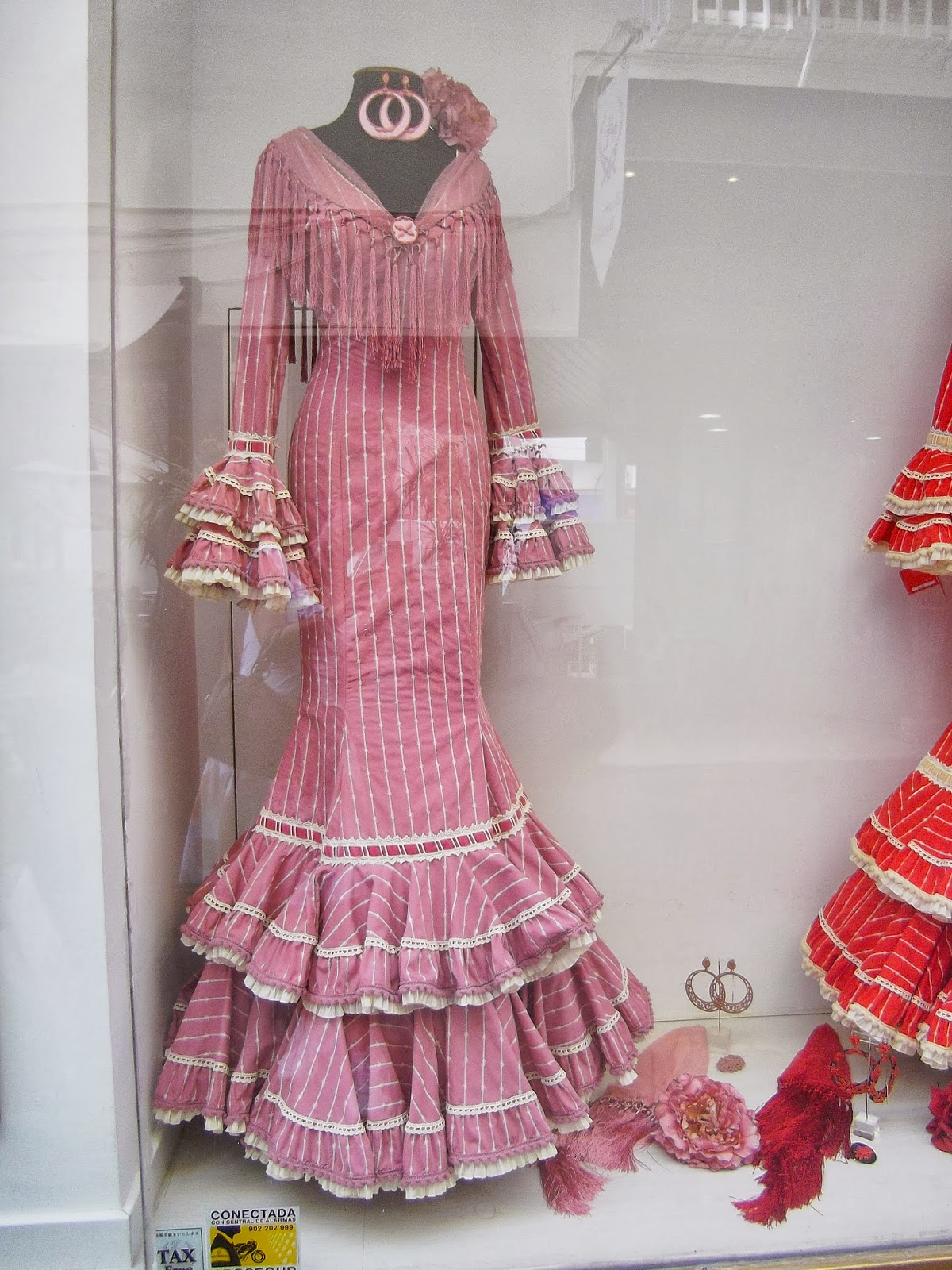 Flamenco Dresses In Sevilla Spain Life In Luxembourg