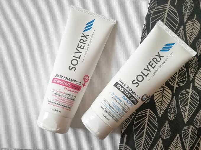 SOLVERX | Delikatne szampony do włosów dla kobiet i mężczyzn