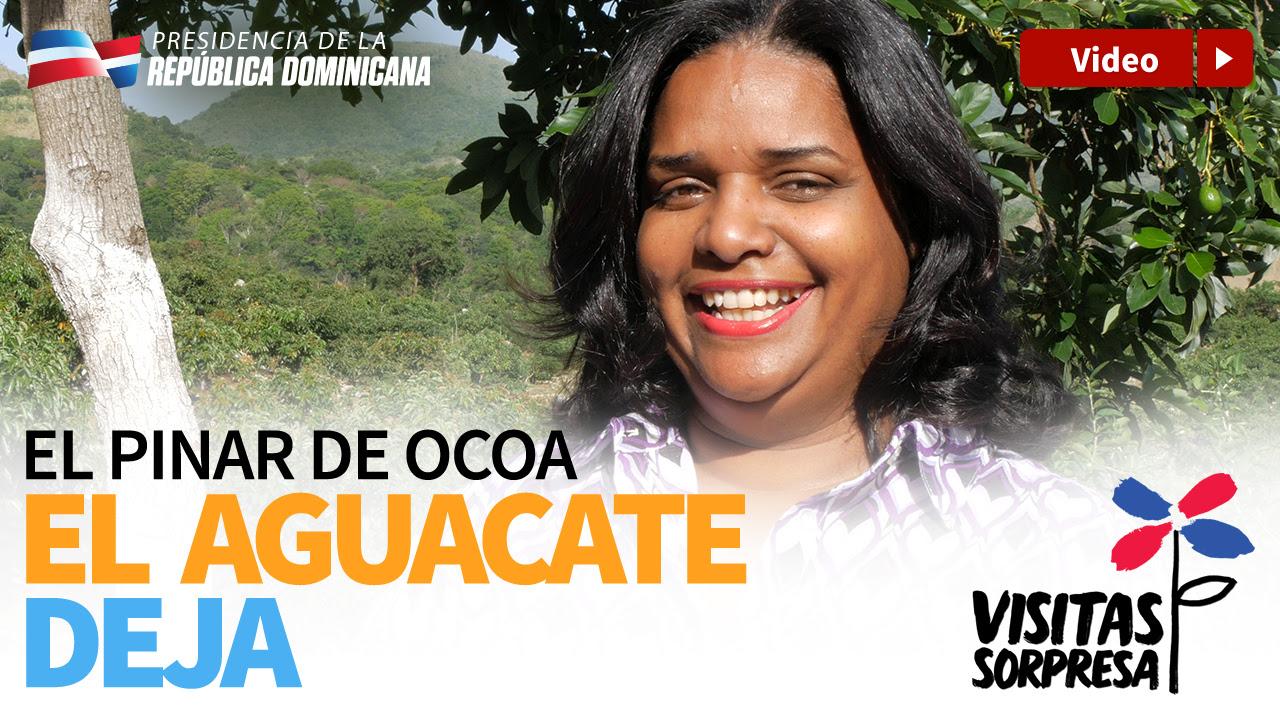 El Pinar de Ocoa. El Aguacate deja