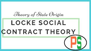 social contract by john Locke, लॉक का सामाजिक समझौता सिद्धांत