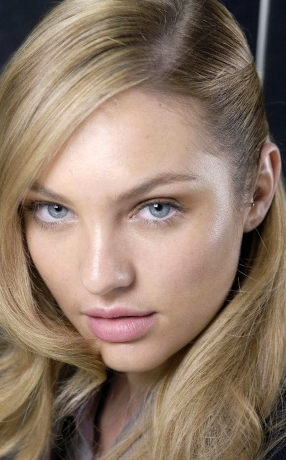 CANDICE SWANEPOEL FACE CLOSE UP NO MAKEUP