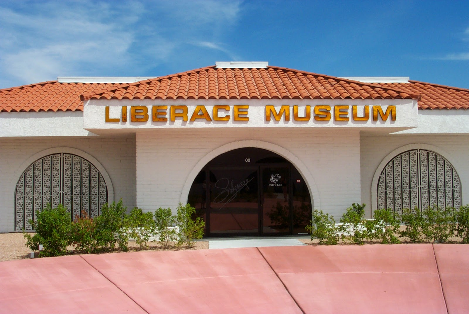 The Old Liberace museum in Las Vegas is haunted one.