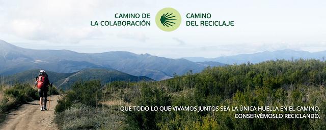 #ecoperegrino camino de santiago reciclar ecoembes