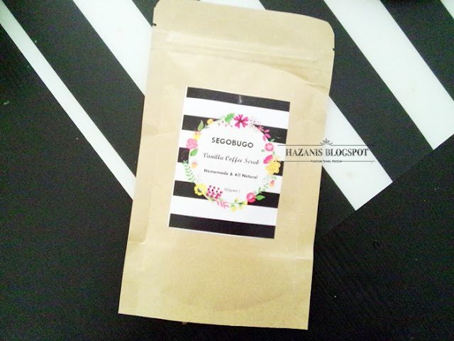 review Vanilla Coffee Scrub