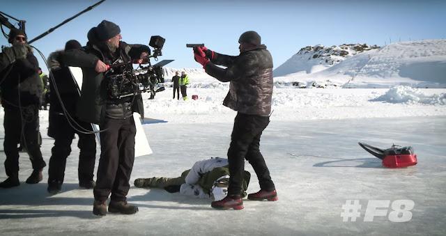 Velozes e Furiosos 8 | Explosões, perseguições e reunião de elenco em imagens e vídeos dos bastidores