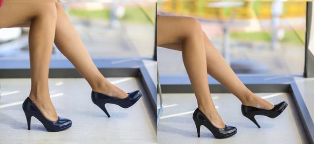 Pantofi ieftini piele lacuita la moda negri, bleumarin de zi, pentru birou