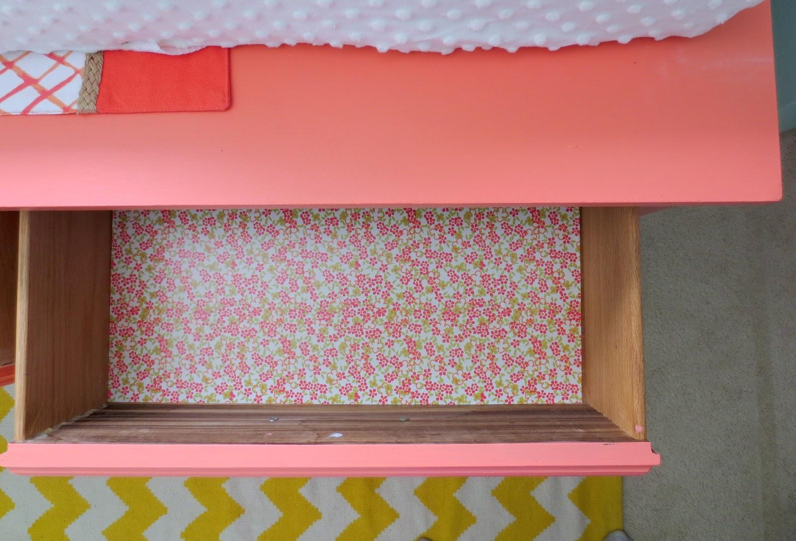 Make Bake And Love Diy C Dresser Drawer Liner