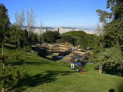 Montjuïc Park in Barcelona