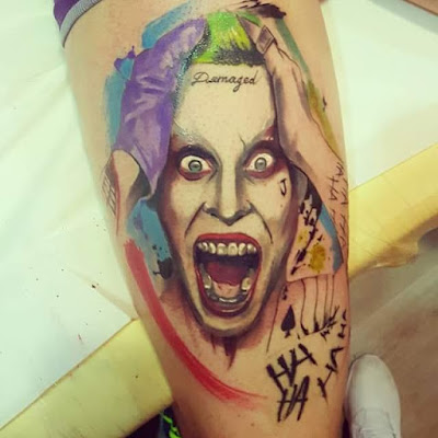 Tatuaje de The Joker (Suicide Squad 2016 - Jared Leto)