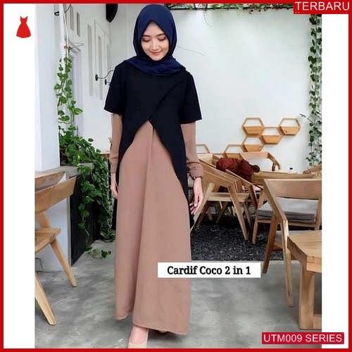 UTM009C73 Baju Cardif Muslim 2in1 Dewasa Maxi UTM009C73 009 | Terbaru BMGShop