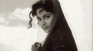 Waheeda Rehman in Bees Sal Baad (1962)