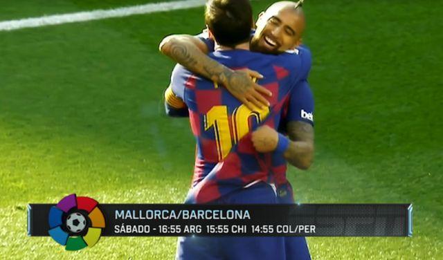 Regresa el fútbol en España con Arturo Vidal como protagonista