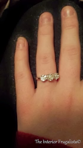 Our daughter's engagement ring - Dec 24,2013