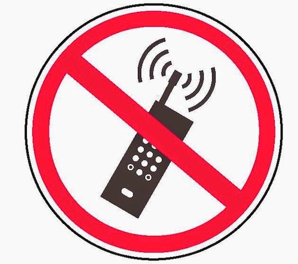 ne pas utiliser de portable