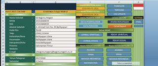 Geveducation:  APLIKASI RAPORT KURIKULUM 2013