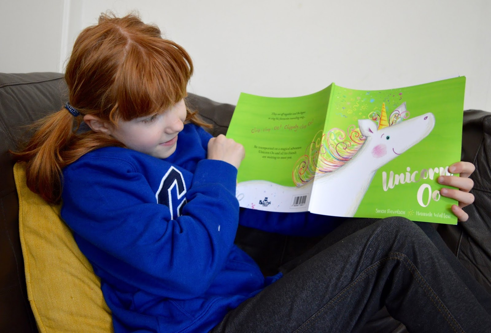 Bang on Books Review - Personalised Adventure Stories for Kids (made in Newcastle) - Reading Unicorn Oo