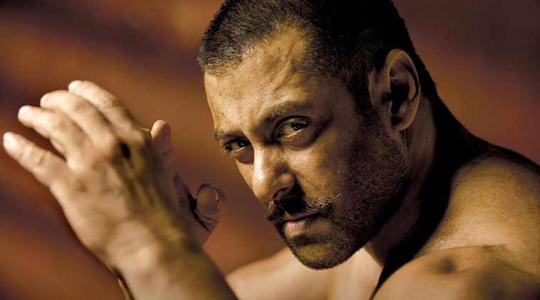 Salman khan in n as Sultan movie