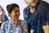 Sai Pallavi looks super cute in plain dress at her interview in Telugu about movie Fidaa ~ Exclusive Celebrities Galleries 020.JPG