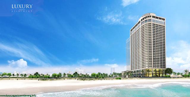 Phối cảnh của dự án Luxury Apartment Đà Nẵng