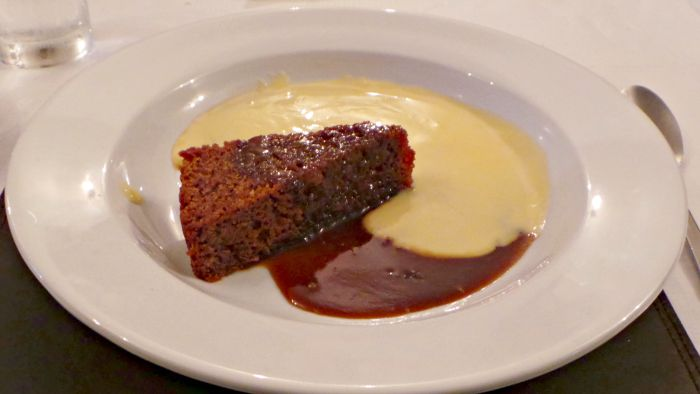Fforest Inn sticky toffee pudding