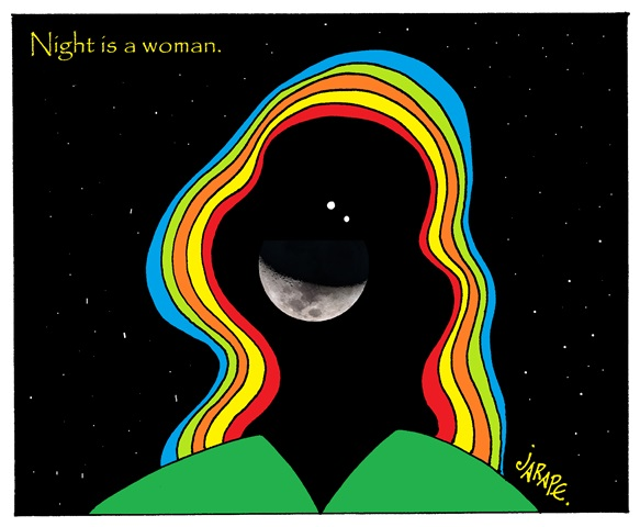 Night is a woman