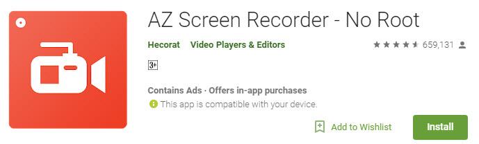aplikasi perekam layar dan video call tanpa root untuk hp android