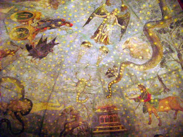 Cielo de Salamanca - Bóveda de la Biblioteca de la Universidad