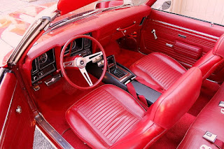 1969 Chevrolet Camaro Convertible RS SS 396 Interior