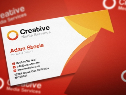 images for business card template indesign