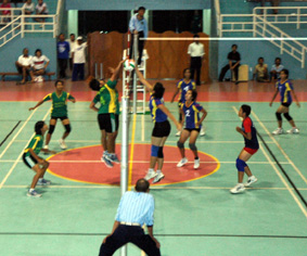 Permainan Bola Voli yaitu salah satu cabang olahraga yang cara bermainnya dengan mem Materi Sekolah    Pengertian dan Tugas Tosser/Set-Uper, Smasher, Universaler, Libero Dalam Permainan Voli