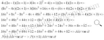 mathematical induction examples with solutions