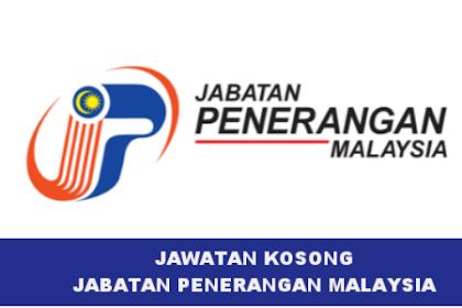 Jawatan Kosong Jabatan Penerangan Malaysia / 56 Kekosongan Seluruh Negeri | Tarikh Tutup: 02 Jun 2019