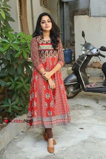 Telugu Actress Nikhila Vimal Latest Stills in Anarkali Dress  0221.JPG