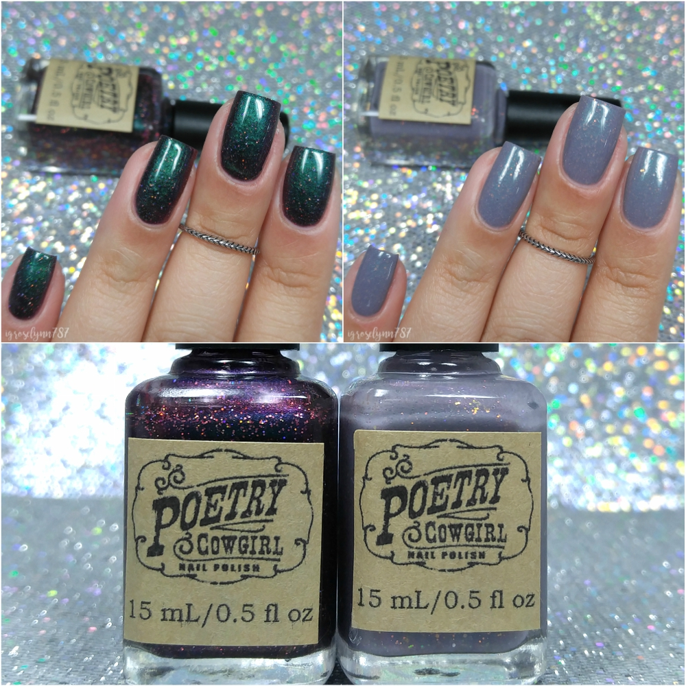 Poetry Cowgirl Nail Polish - The Indie Shop Duo - Manicured & Marvelous