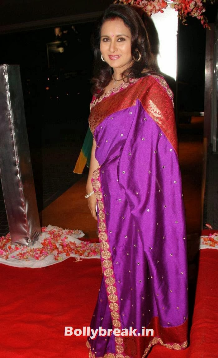 Poonam Dhillon, Siddharth Kannan & Neha Agarwal Wedding Reception Pics