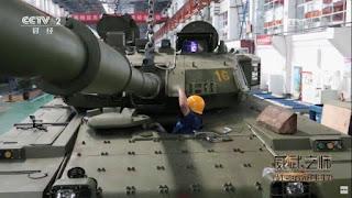 Tiongkok Tampilkan Tank VT-4 Thailand