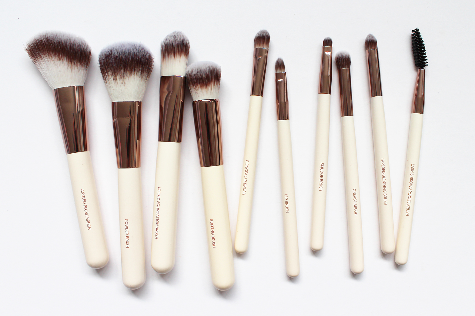 NUDE BY NATURE | Summer Luxe 10 Piece Brush Set - CassandraMyee