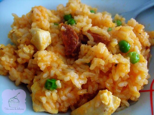 Riz au chorizo et au poulet