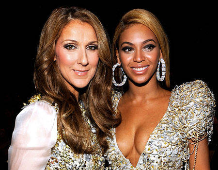 Celine Dion offers Beyonce tips on twins