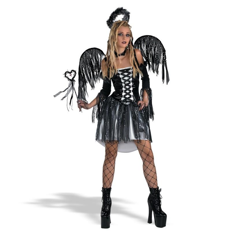 Dark angel costume tween