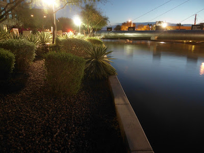 Dawn at Arizona Canal