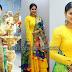 Sneha Yellow Salwar Floral Duppatta